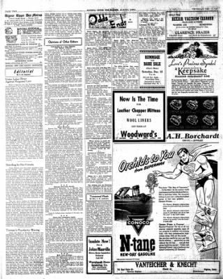 The Algona Upper Des Moines from Algona, Iowa on December 13, 1945 · Page 10