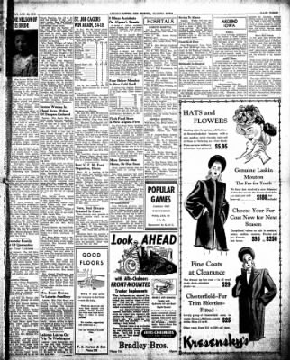 The Algona Upper Des Moines from Algona, Iowa on January 22, 1946 · Page 3