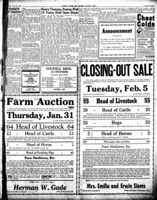 The Algona Upper Des Moines from Algona, Iowa on January 29, 1946 · Page 9