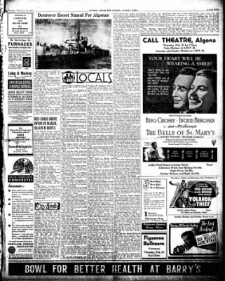 The Algona Upper Des Moines from Algona, Iowa on February 19, 1946 · Page 1