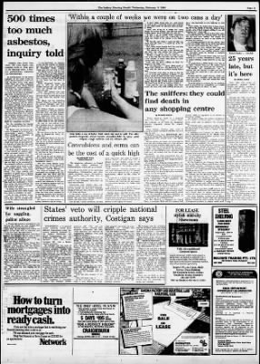 The Sydney Morning Herald from Sydney, New South Wales on February 8, 1984 · Page 3