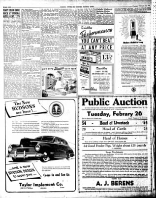 The Algona Upper Des Moines from Algona, Iowa on February 19, 1946 · Page 4