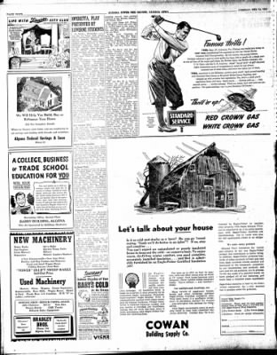 The Algona Upper Des Moines from Algona, Iowa on February 26, 1946 · Page 10