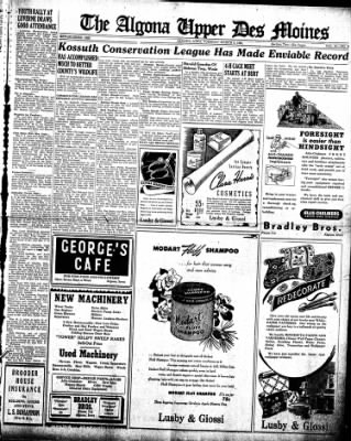 The Algona Upper Des Moines from Algona, Iowa on March 5, 1946 · Page 5
