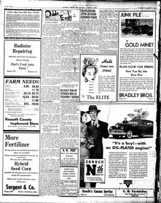 The Algona Upper Des Moines from Algona, Iowa on March 5, 1946 · Page 6