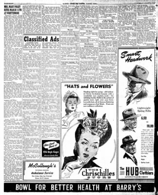 The Algona Upper Des Moines from Algona, Iowa on March 19, 1946 · Page 8