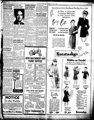 The Algona Upper Des Moines from Algona, Iowa on March 26, 1946 · Page 3