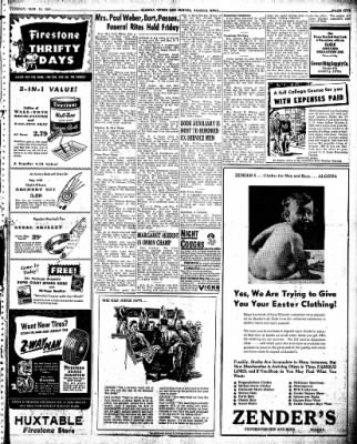 The Algona Upper Des Moines from Algona, Iowa on March 26, 1946 · Page 11