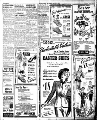 The Algona Upper Des Moines from Algona, Iowa on April 16, 1946 · Page 4