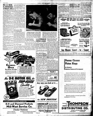 The Algona Upper Des Moines from Algona, Iowa on April 16, 1946 · Page 8