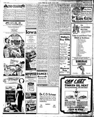 The Algona Upper Des Moines from Algona, Iowa on May 7, 1946 · Page 4
