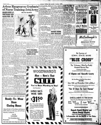 The Algona Upper Des Moines from Algona, Iowa on May 14, 1946 · Page 10