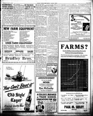 The Algona Upper Des Moines from Algona, Iowa on May 14, 1946 · Page 17
