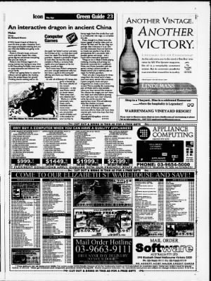 The Age from Melbourne, Victoria, Australia on September 10, 1998 · Page 77