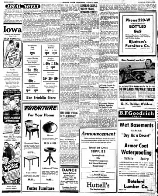 The Algona Upper Des Moines from Algona, Iowa on June 18, 1946 · Page 16