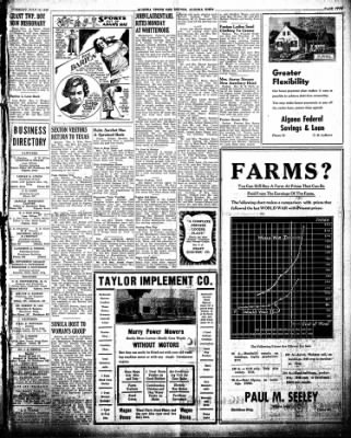 The Algona Upper Des Moines from Algona, Iowa on July 16, 1946 · Page 8