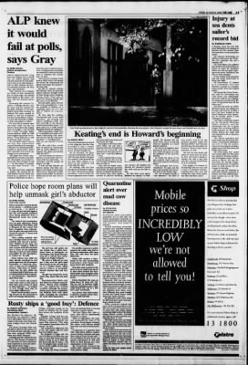 The Age from Melbourne, Victoria on March 22, 1996 · Page 5
