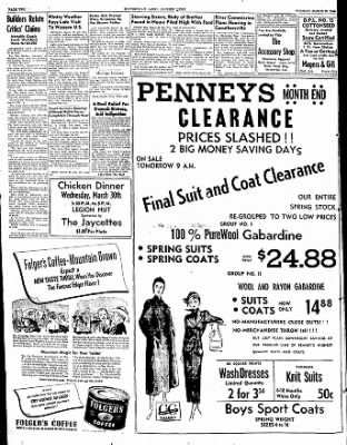 The Courier News from Blytheville, Arkansas on March 29, 1949 · Page 2