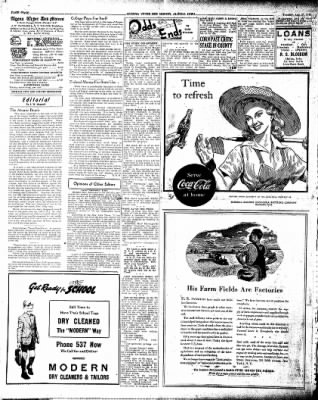 The Algona Upper Des Moines from Algona, Iowa on August 27, 1946 · Page 8