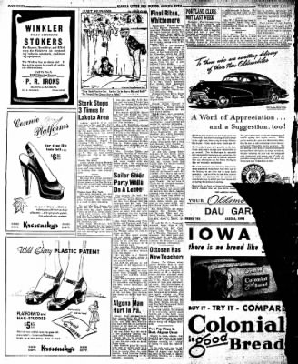 The Algona Upper Des Moines from Algona, Iowa on September 3, 1946 · Page 10
