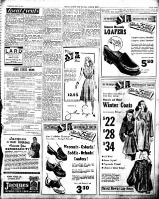 The Algona Upper Des Moines from Algona, Iowa on October 8, 1946 · Page 5