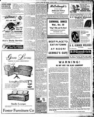 The Algona Upper Des Moines from Algona, Iowa on October 22, 1946 · Page 4