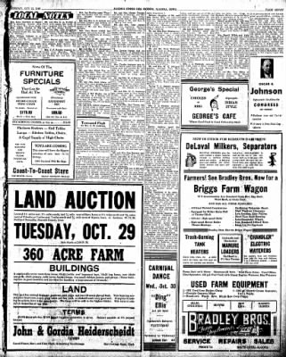 The Algona Upper Des Moines from Algona, Iowa on October 22, 1946 · Page 15