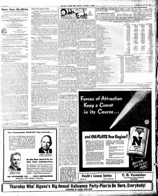 The Algona Upper Des Moines from Algona, Iowa on October 29, 1946 · Page 10