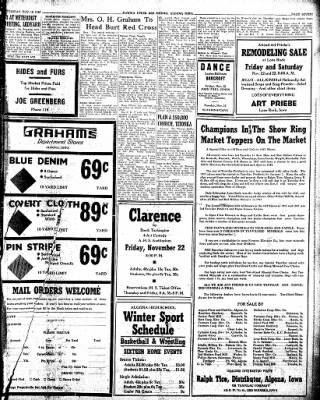 The Algona Upper Des Moines from Algona, Iowa on November 19, 1946 · Page 7