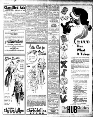 The Algona Upper Des Moines from Algona, Iowa on November 26, 1946 · Page 8