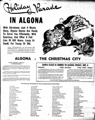 The Algona Upper Des Moines from Algona, Iowa on November 26, 1946 · Page 14