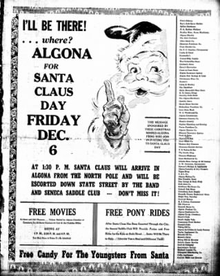 The Algona Upper Des Moines from Algona, Iowa on December 3, 1946 · Page 11