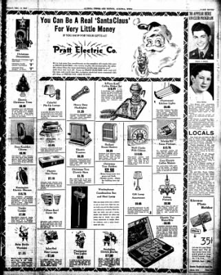 The Algona Upper Des Moines from Algona, Iowa on December 10, 1946 · Page 7