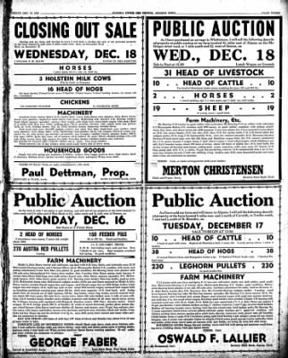 The Algona Upper Des Moines from Algona, Iowa on December 10, 1946 · Page 19