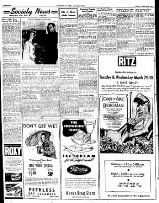 The Courier News from Blytheville, Arkansas on March 29, 1949 · Page 4