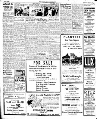 The Courier News from Blytheville, Arkansas on April 9, 1946 · Page 8