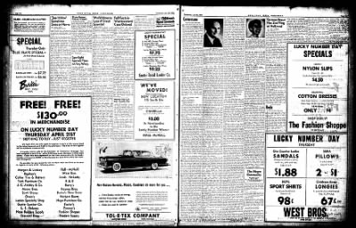 Hope Star from Hope, Arkansas on April 20, 1955 · Page 13
