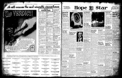 Hope Star from Hope, Arkansas on April 23, 1955 · Page 1