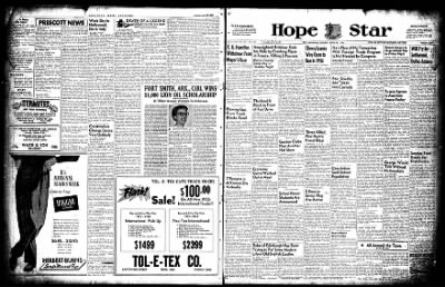 Hope Star from Hope, Arkansas on April 25, 1955 · Page 14