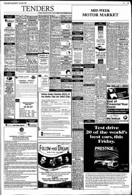 The Age from Melbourne, Victoria, Australia on June 16, 1999