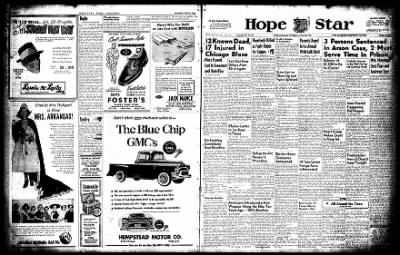 Hope Star from Hope, Arkansas on April 28, 1955 · Page 1