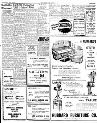 The Courier News from Blytheville, Arkansas on April 10, 1946 · Page 3