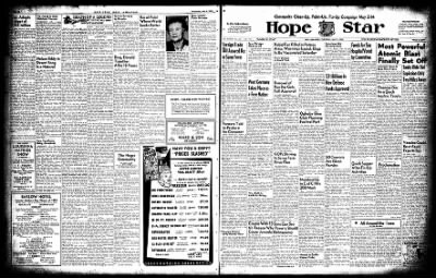Hope Star from Hope, Arkansas on May 5, 1955 · Page 1