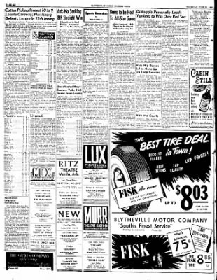 The Courier News from Blytheville, Arkansas on June 30, 1949 · Page 6