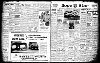 Hope Star from Hope, Arkansas on May 19, 1955 · Page 1