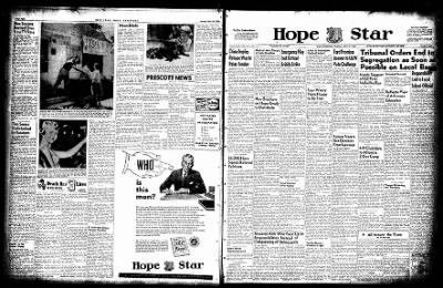 Hope Star from Hope, Arkansas on May 31, 1955 · Page 3