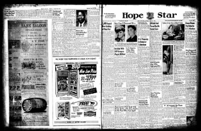 Hope Star from Hope, Arkansas on June 20, 1955 · Page 1