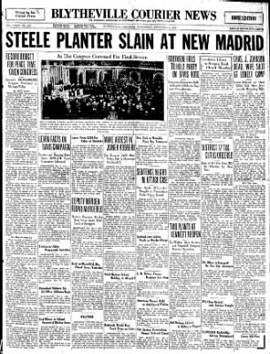 The Courier News from Blytheville, Arkansas on December 3, 1930 · Page 1