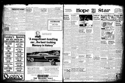 Hope Star from Hope, Arkansas on June 28, 1955 · Page 1