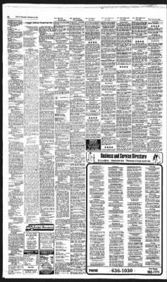 Florida Today from Cocoa Florida on February 25 1982 Page 8C